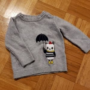 Gymboree bear sweater